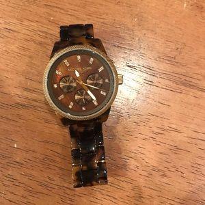 Michael Kors Watch (Tortoise Shell)